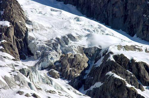 Il ghiacciaio di Planpincieux