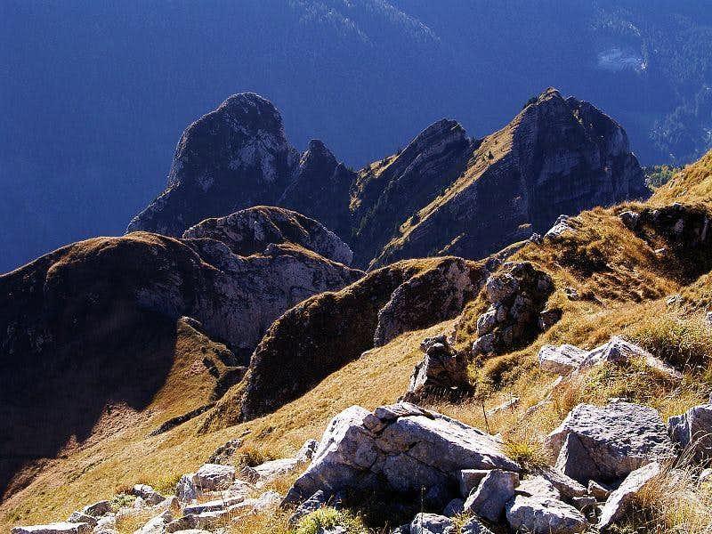 Gamspitz from Creta di Timau