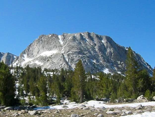 Fletcher Peak from Rafferty...