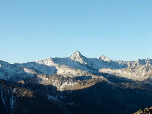 Pfeifferhorn and ridge