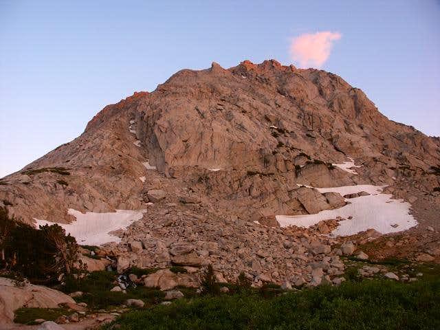 Fletcher Peak - sunset on...