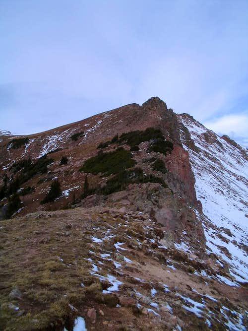 Northeast Ridge from Eccles Pass