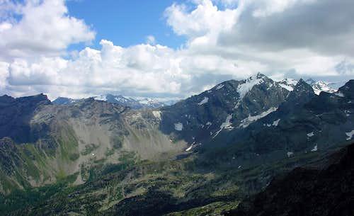 Il Monte Paramont (3301 m)