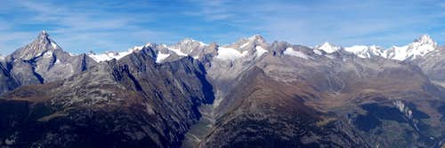 Gredetschtal & Bernese Alps