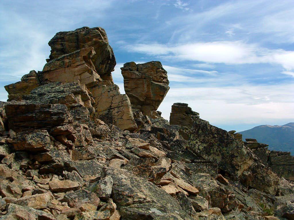 Rocks on Baker Point