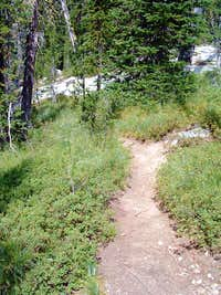 Trail to Middle Lake