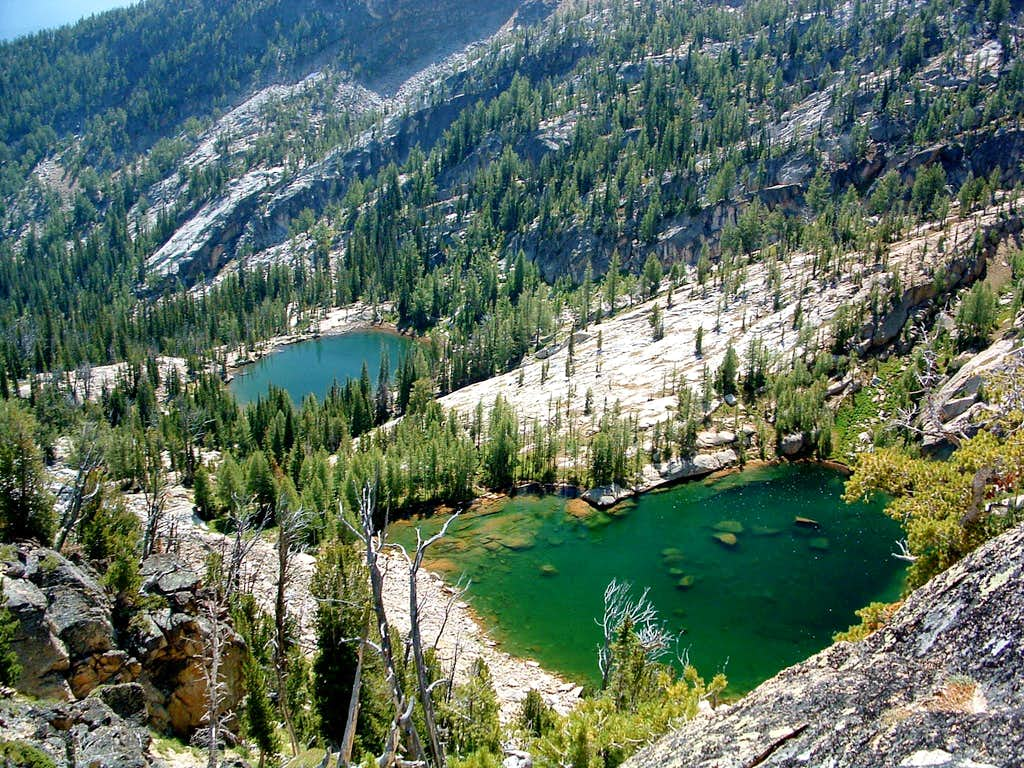 Gem and Middle Lakes