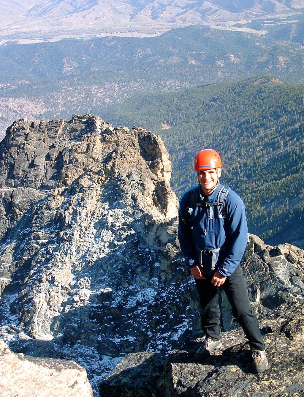 Fred Near the Summit