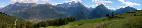 Pano view from the trail <br>between Verrogne and Vetan