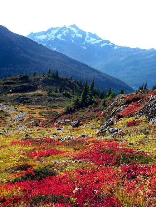 Mount Shuksan and Fall Colors