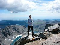 Cloud Peak summit
