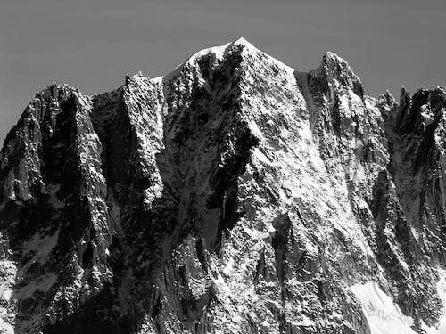 l'aiguille Verte (4121 m)