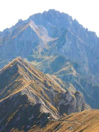 The ridge of Traversata Alta