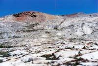 Isberg Peak (on the left)...