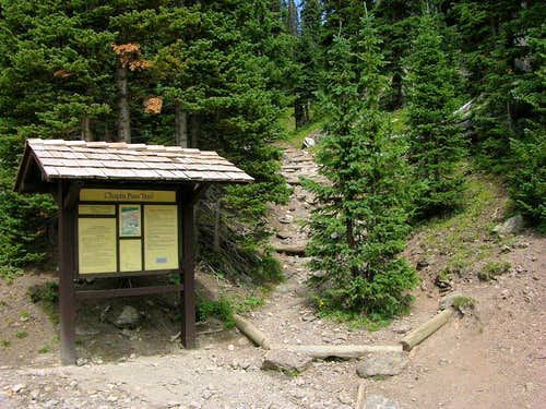 Chapin Pass Trailhead