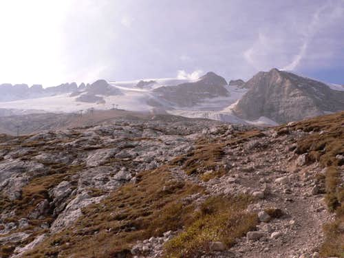 The Path to Marmolada