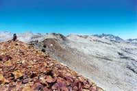 The summit of Isberg Peak...
