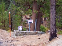 Buckhorn Campground Entrance