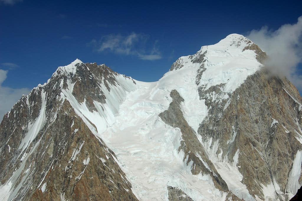 West Face of Kanjut Sar 2 (6831m)