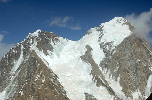 West Face of Kanjut Sar 2 (6831m)