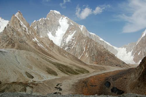 West Face of Khani Basa Sar (6441m)