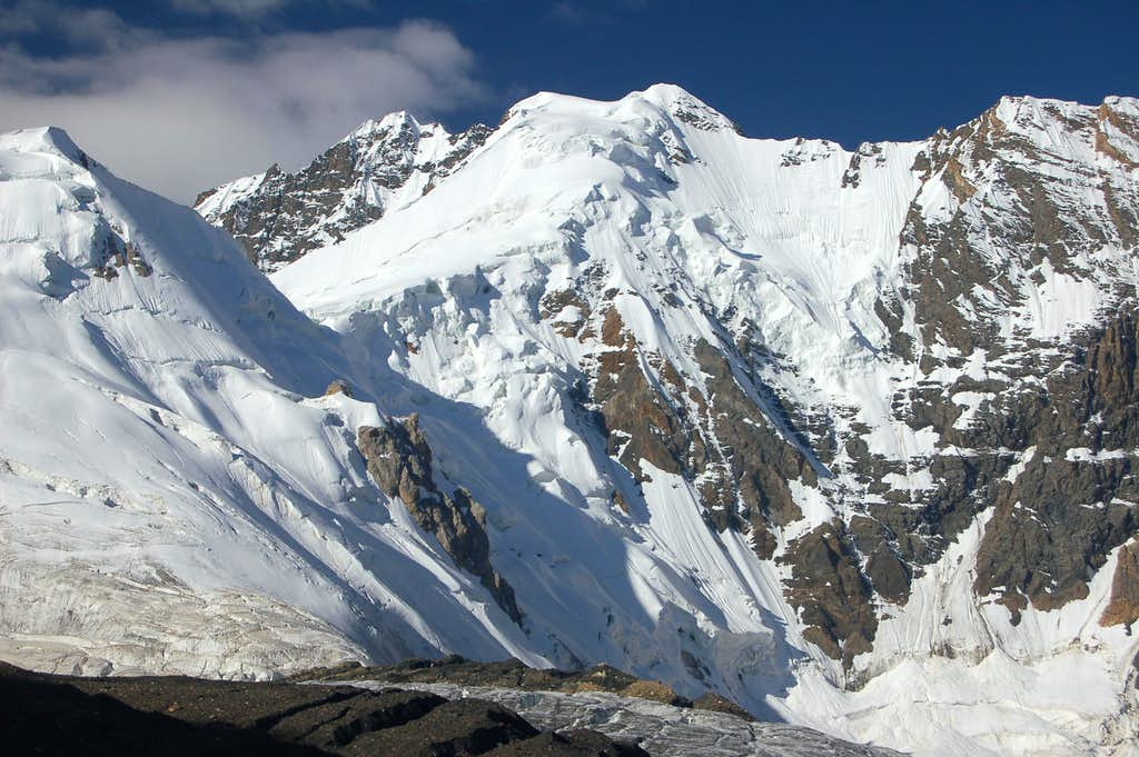 North face of Point  5800m