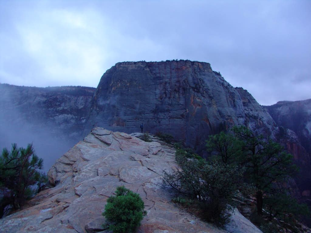 Great White Throne from Angel's Landing