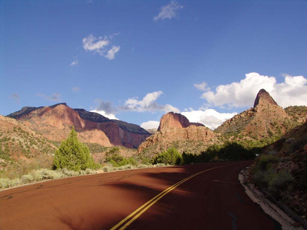 Road to Kolob Canyons, Zion National Park