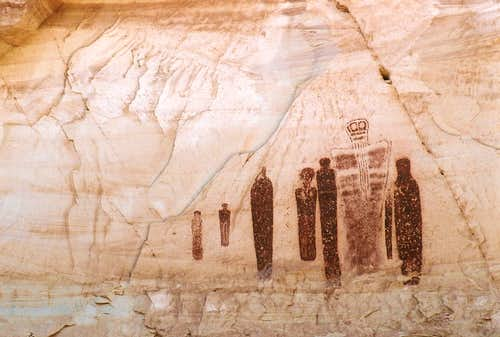 Great Gallery, Horseshoe Canyon
