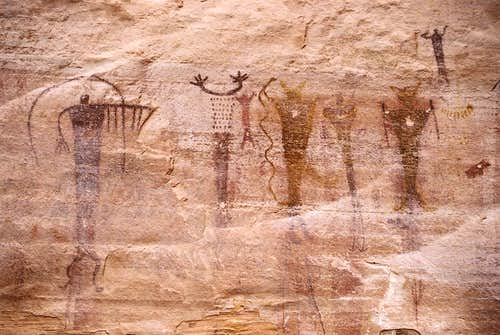 Buckhorn Wash Pictographs