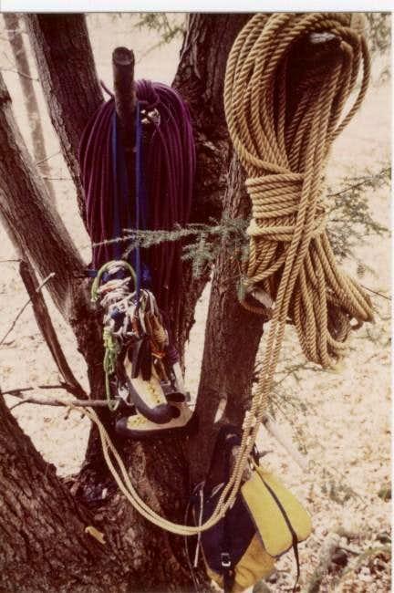 Climbing Equipment at Seneca...
