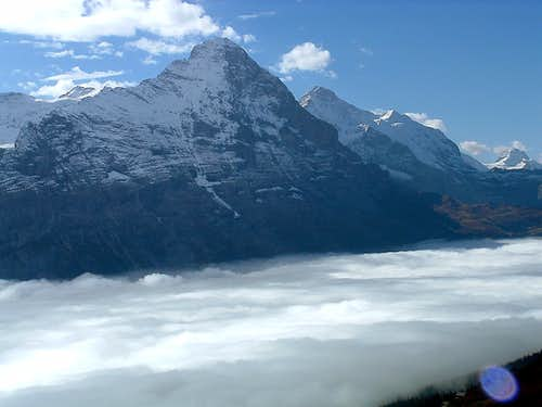 Eiger from Alp Grindel