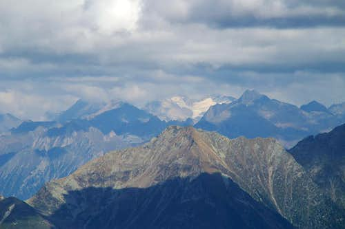 Hochfeiler as seen from Muthspitze