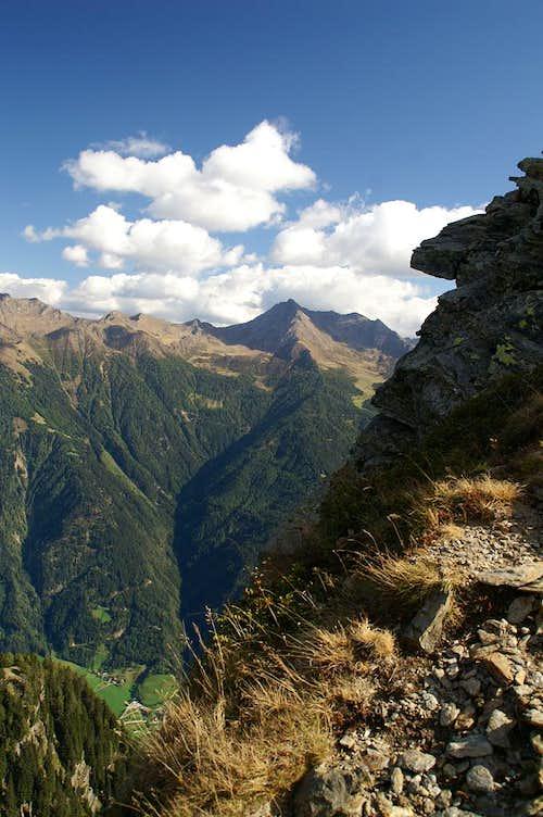 Ulfasalm, Kolbenspitze East Ridge