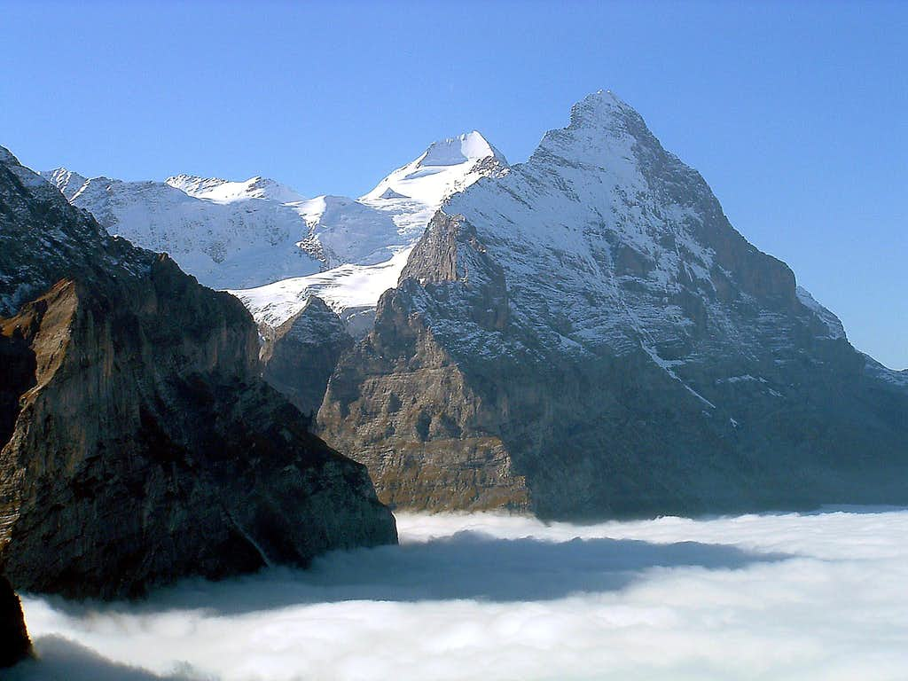 Eiger and Mönch from Grosse Scheidegg