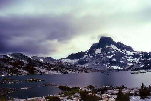 Banner Peak during a Sierra...
