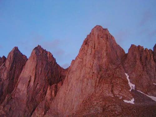 East Face of Mount Whitney,...
