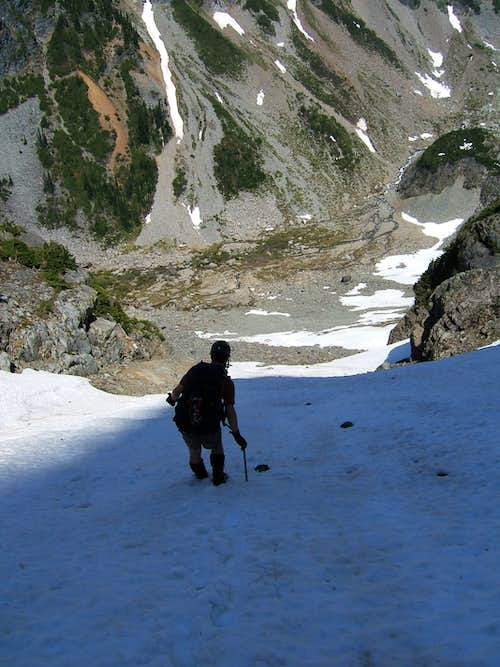 Retreating the Couloir