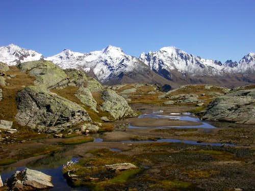 Valgrisenche summits