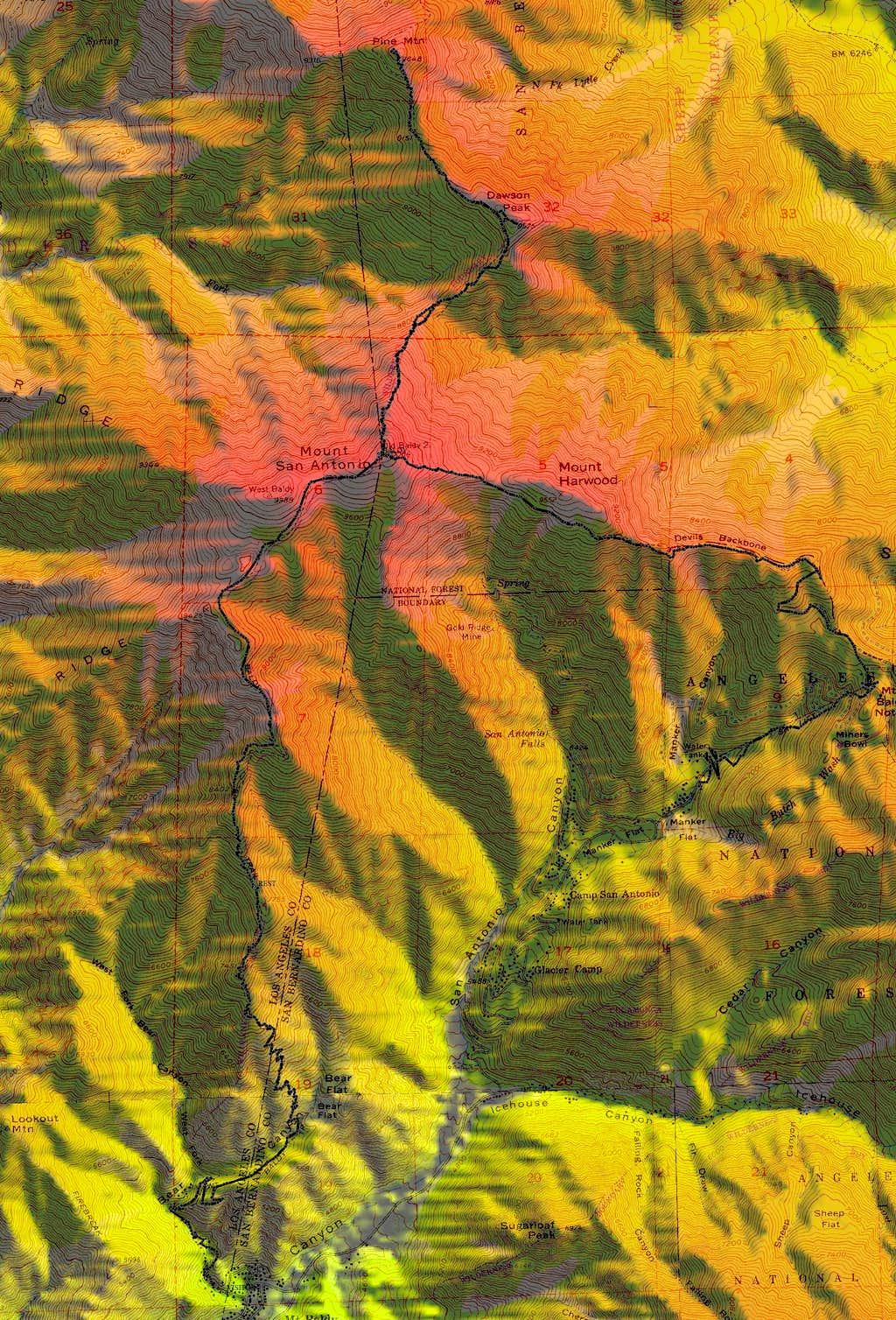 Mount Baldy, Dawson & Pine Hike