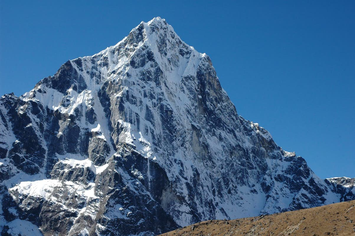 Image result for images of the north face of cholatse