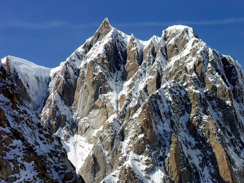 Il Mont Maudit (4465 m), 20 settembre 2006