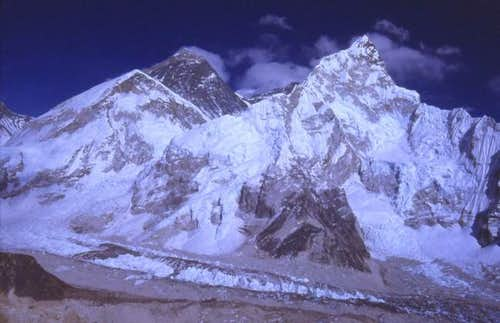 Nuptse in 1982. William Marler