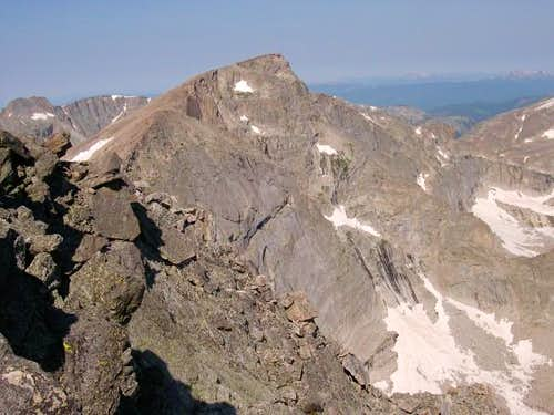Chiefs Head from the summit...