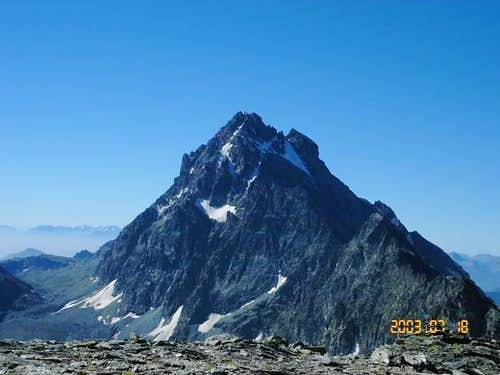 Monte Viso: from Mount Meidassa
