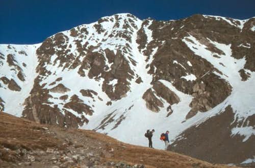 Torreys Peak, taken during a...