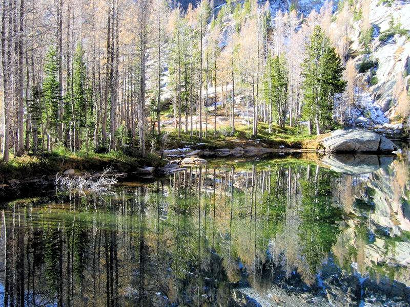 Gem Lake Reflections, #4.