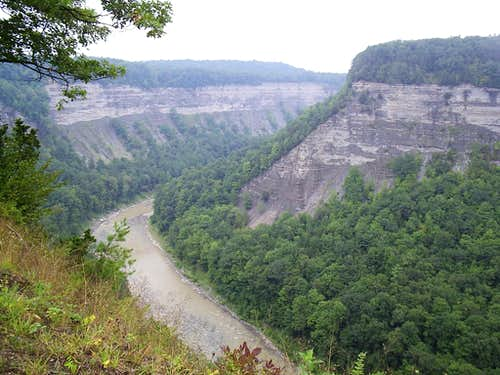 Heart of Genesee River Gorge