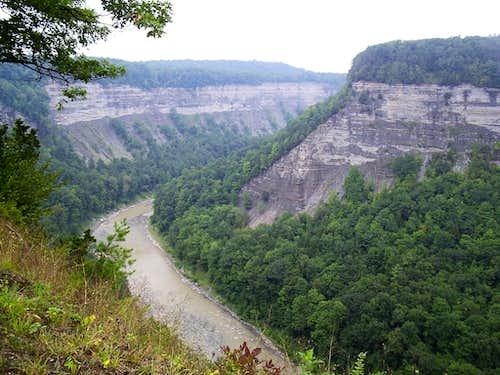 Genesee River Gorge (Letchworth State Park)