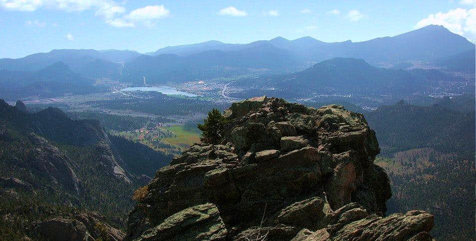 Estes Park from The Needle